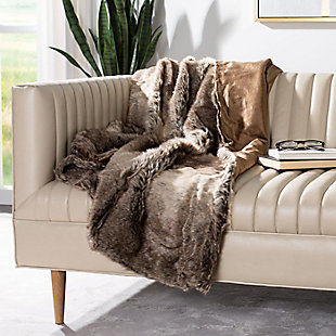 Safavieh Luxe Sheen Throw, , rollover