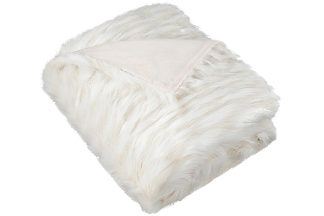 Safavieh Luxe Feather Throw, , large