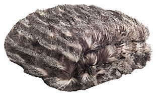 Safavieh Faux Pheasant Throw, , large