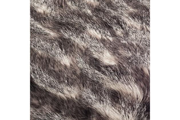 Safavieh Faux Pheasant Throw, , large