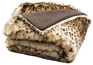 Safavieh Faux Leopardis Throw, , large