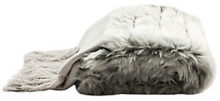 Safavieh Faux Fur Alexi 20 X 80 Bed Runner, , large