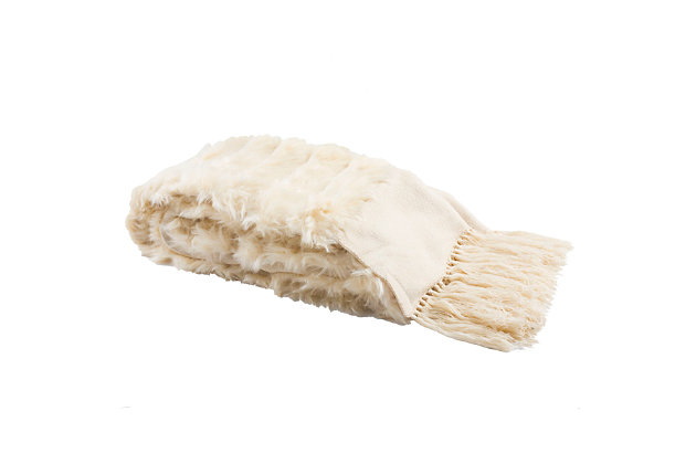 Safavieh Faux Fur Alexi 20 X 80 Bed Runner, , large
