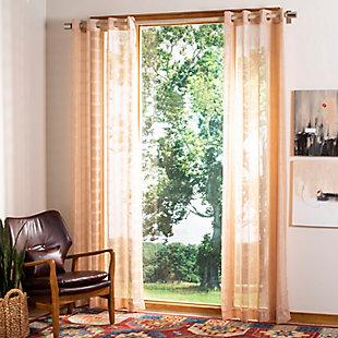Safavieh Dafni 52X84 Window Panel, Beige, large
