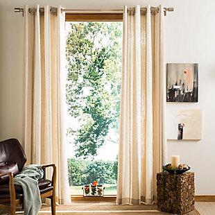 Safavieh Vari 52X84 Window Panel, Beige, large