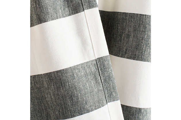 Safavieh Rafina 52X84 Window Panel, Gray, large