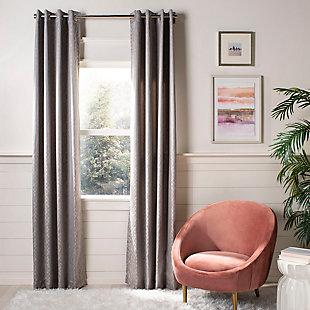 Safavieh Bilra 52X84 Window Panel, Gray, large