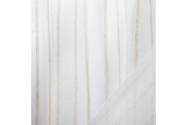 Safavieh Zana 52X84 Window Panel, Beige, large