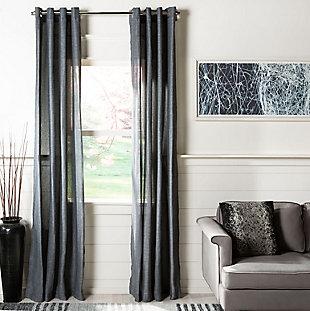 Safavieh Nala 52X84 Window Panel, Gray, large