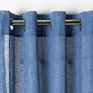 Safavieh Shani 52X84 Window Panel, Blue, rollover