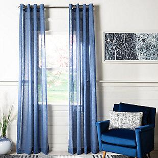 Safavieh Shani 52X84 Window Panel, Blue, large