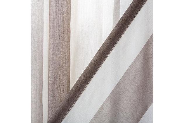 Safavieh Jara 52X84 Window Panel, Beige, large