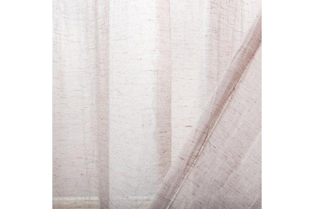 Safavieh Moony 52X96 Window Panel, Gray, large