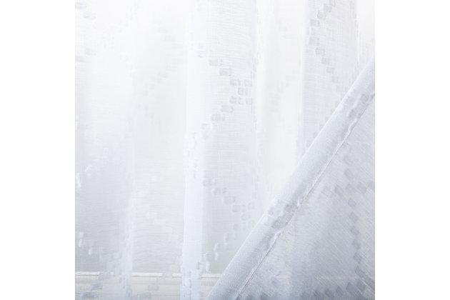 Safavieh Gracie 52X84 Window Panel, White, large