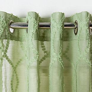 Safavieh Lenox 52X84 Window Panel, Green, rollover