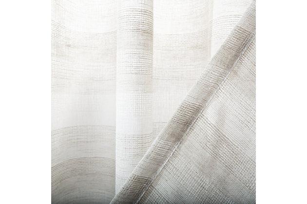 Safavieh Liberty 52X84 Window Panel, Beige, large