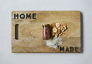 """Cutting Board """"Home Made"""", , rollover"""