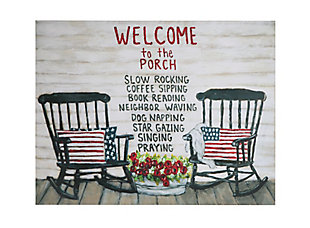 """""""Welcome to the Porch..."""", , rollover"""