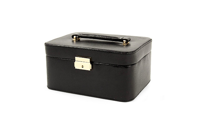 Bey-Berk Leather Jewelry Box, , large