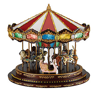 Mr. Christmas  Marquee Deluxe Carousel, , rollover