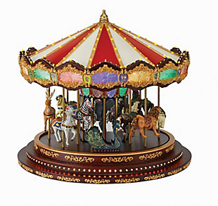 Mr. Christmas  Marquee Deluxe Carousel, , large