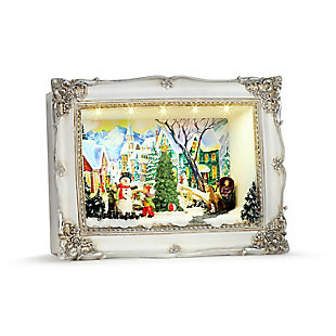 Mr. Christmas  Animated Shadow Box Scenes - Village, , rollover