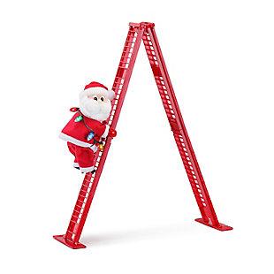 Mr. Christmas  Tabletop Climber - Santa, , rollover