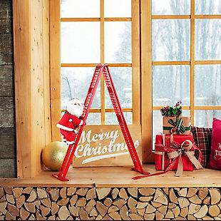 Mr. Christmas  Tabletop Climber - Santa, , large
