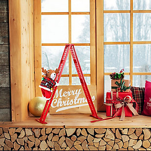 Mr. Christmas  Tabletop Climber - Reindeer, , large