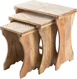 Home Accents  Traditional Nesting Table Set, , large