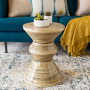 Home Accents  Garden Natural Global Accent Table, , rollover