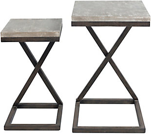 Home Accents  Bronze Modern Table Set, , large