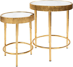 Home Accents  Gold Modern Table Set, , large