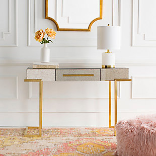 Home Accents  Gold Modern Console Table, , rollover