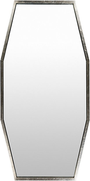 Home Accents  Gold Modern Wall Mirror, Metallic, large