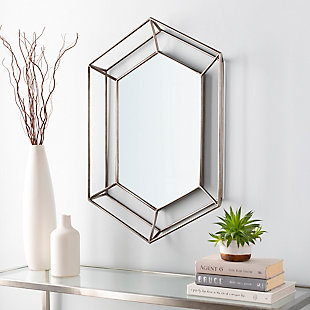 Home Accents  Silver Modern Wall Mirror, , rollover