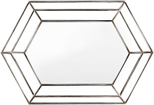 Home Accents  Silver Modern Wall Mirror, , large