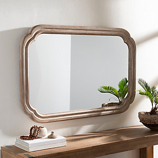Home Accents  Natural Traditional Wall Mirror, , rollover