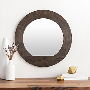 Home Accents  Brown Modern Wall Mirror, , rollover