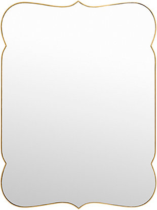 Home Accents  Gold Traditional Wall Mirror, , large