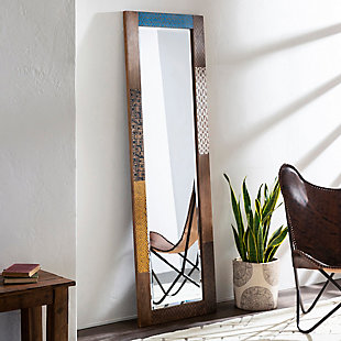 Home Accents  Tan Global Wall Mirror, , rollover