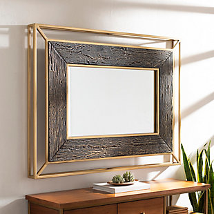 Home Accents  Gold Modern Wall Mirror, , rollover