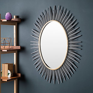Home Accents  Gray Modern Wall Mirror, , rollover