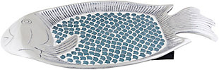 Home Accents  Sage Traditional Decorative Platter, , large