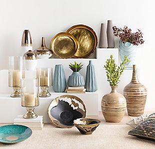 Home Accents  Garden Natural Global Floor Vase, , rollover