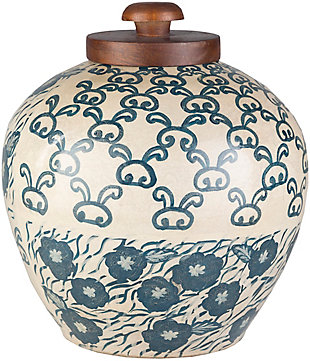 Home Accents  Navy Global Decorative Jar, , large