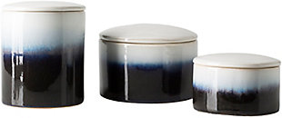 Home Accents  Navy Modern Decorative Jar Set, , large