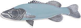 Home Accents  Sky Blue Traditional Decorative Platter, , large