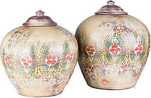 Home Accents  Khaki Global Decorative Jar, , rollover