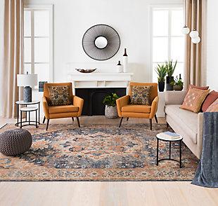 Home Accents  Copper Modern Decorative Tray, , rollover